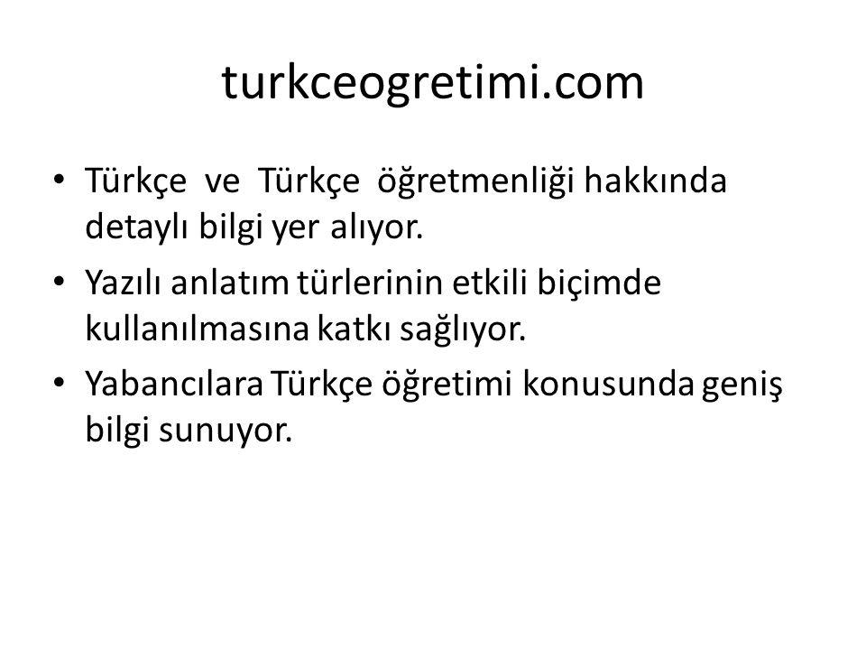 Türkçe ve Türkçe öğretmenliği hakkında detaylı bilgi yer alıyor.