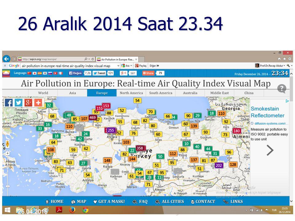26 Aralık 2014 Saat 23.34 Akdur 2001 Hava Kirliliği3925.04.2015