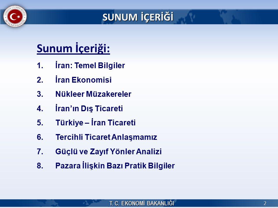 İHRACATTA POTANSİYELİMİZ OLAN ÜRÜNLER T.C.