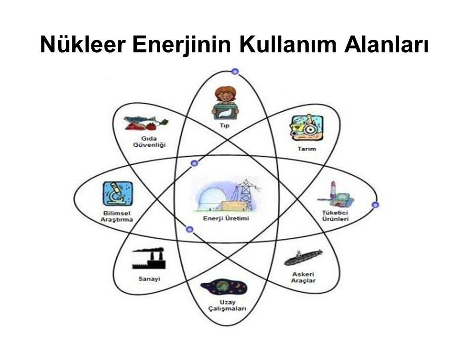 Nükleer Enerjinin Kullanım Alanları