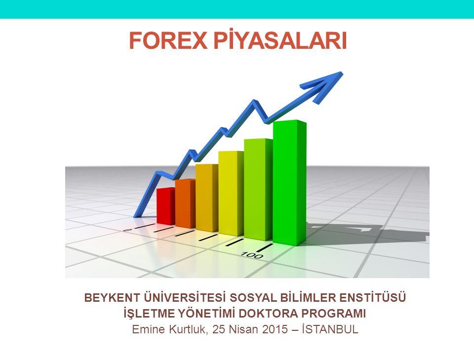 I.Forex (FX) Piyasası Nedir.