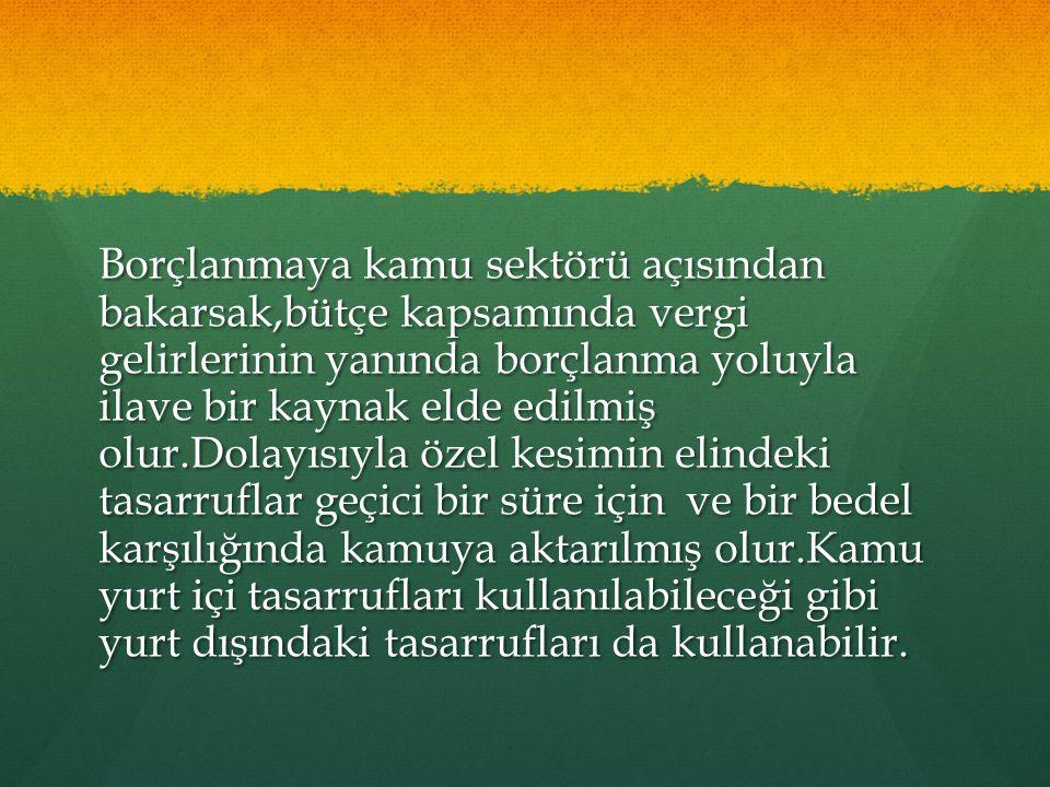 Cumhuriyet sonrası Cumhuriyet sonrası Türkiye Cumhuriyeti ilk dış borcunu 1930 yılında ABD den 10 milyon dolar olarak almıştı.