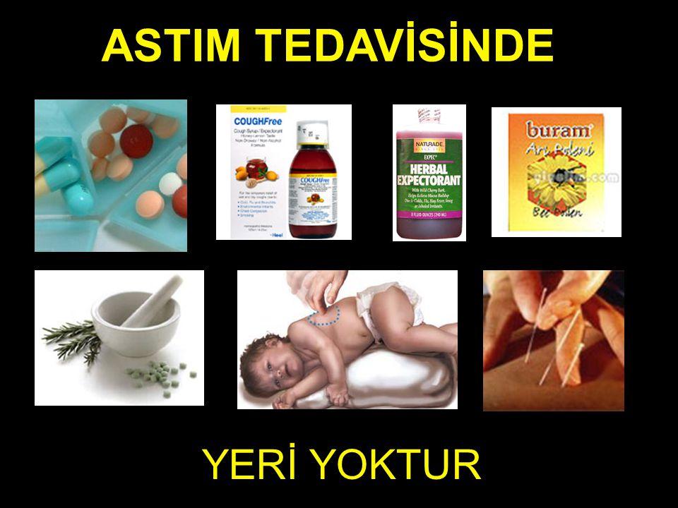YERİ YOKTUR ASTIM TEDAVİSİNDE