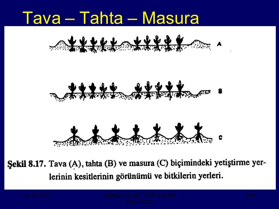 Tava – Tahta – Masura 30.07.2015Ağaoğlu ve ark. 2010 (Zeynel DALKILIÇ) 244