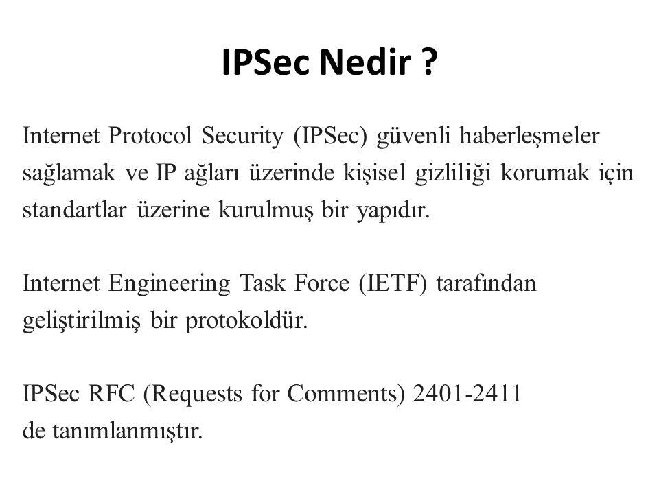 IPSec Nedir .
