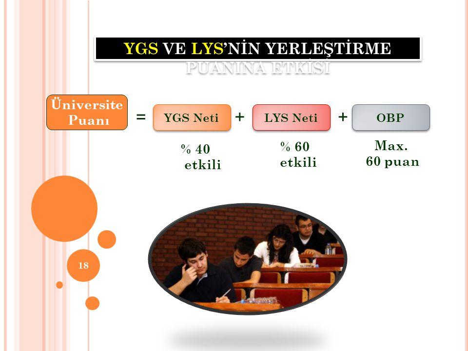 19 * Türkçe testinde dil bilgisinden, Temel Matematik testinden geometriden ne kadar soru geleceği net olarak belli değildir.