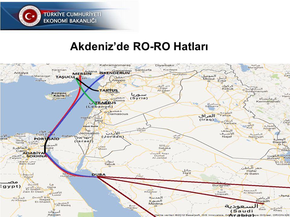 25 Akdeniz'de RO-RO Hatları