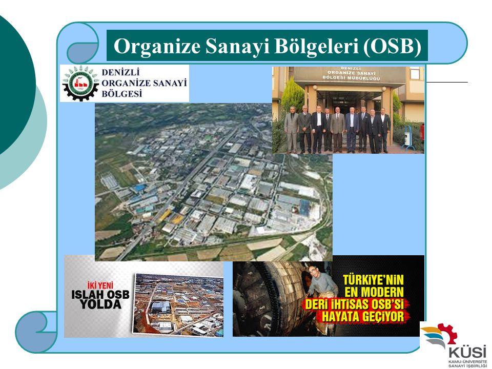Organize Sanayi Bölgeleri (OSB)