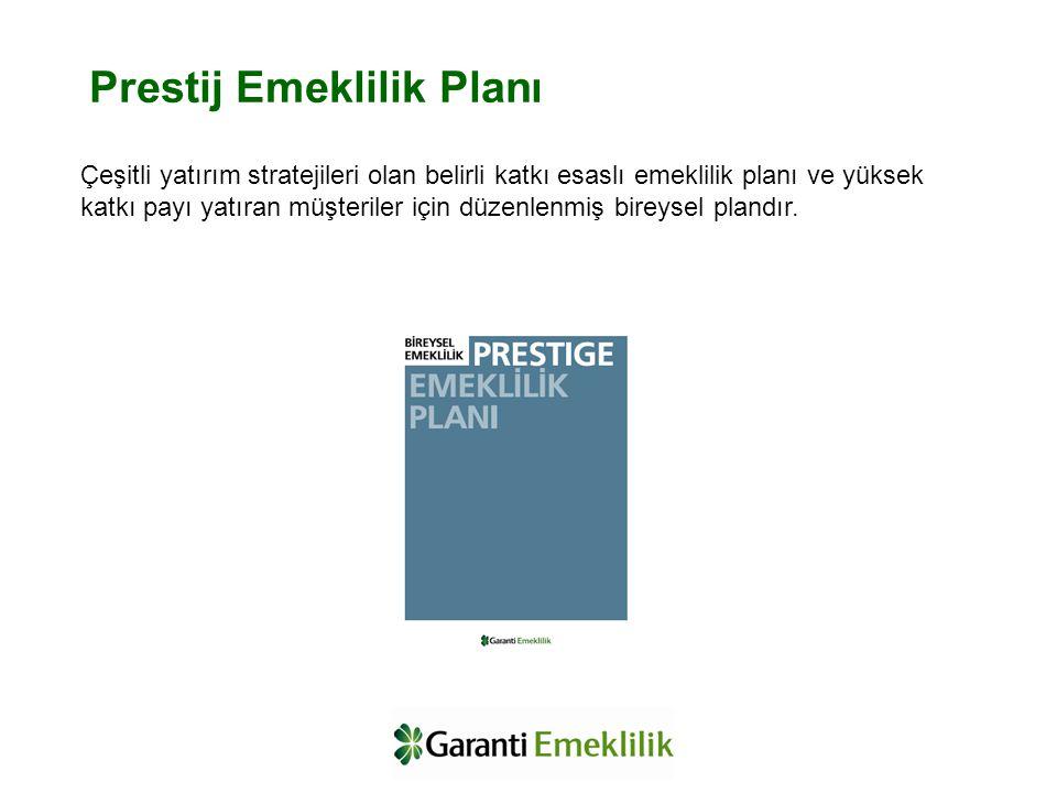 Çeşitli yatırım stratejileri olan belirli katkı esaslı emeklilik planı ve yüksek katkı payı yatıran müşteriler için düzenlenmiş bireysel plandır. Pres