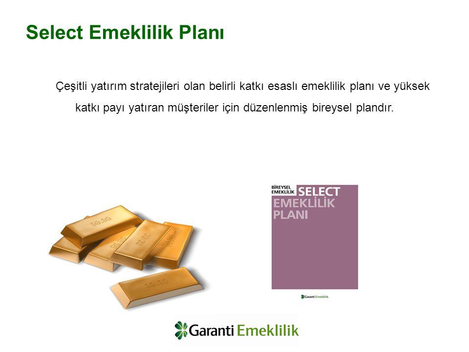 Çeşitli yatırım stratejileri olan belirli katkı esaslı emeklilik planı ve yüksek katkı payı yatıran müşteriler için düzenlenmiş bireysel plandır. Sele