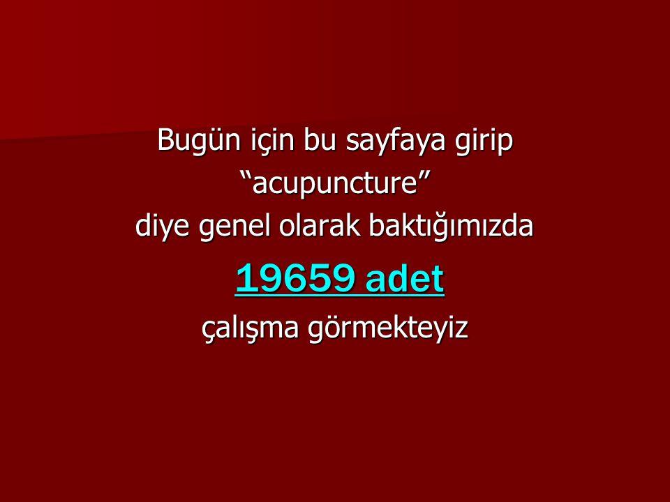SON YAYINLANAN Effect of acupressure on patients in Turkey receiving hemodialysis treatment for uremic pruritus.