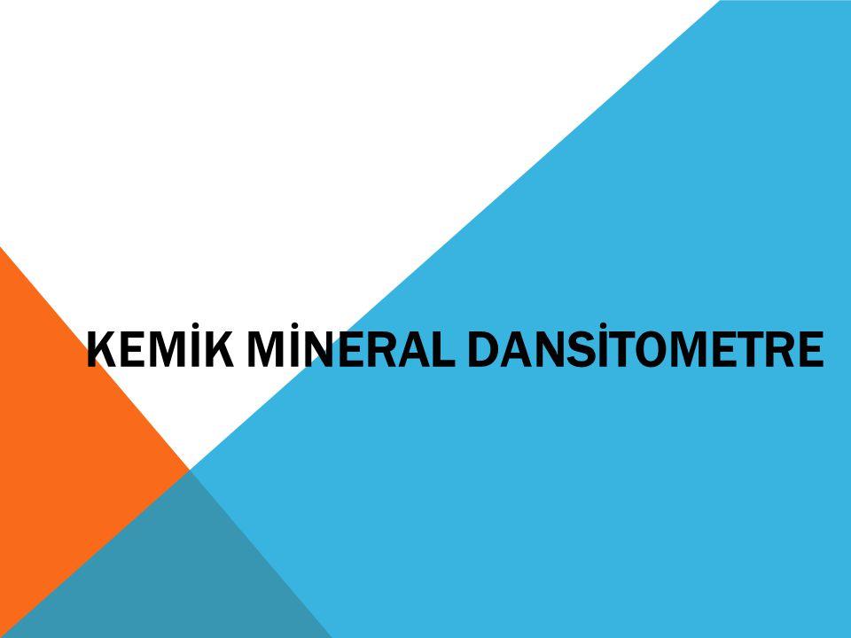 GÜNLÜK SISTEM TESTI Kemik mineral dansitometre cihazları farklı firmalar tarafından üretilmektedir.