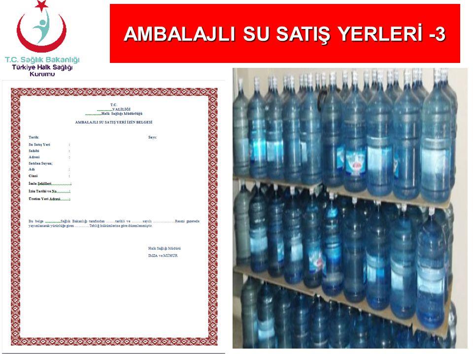 AMBALAJLI SU SATIŞ YERLERİ -3