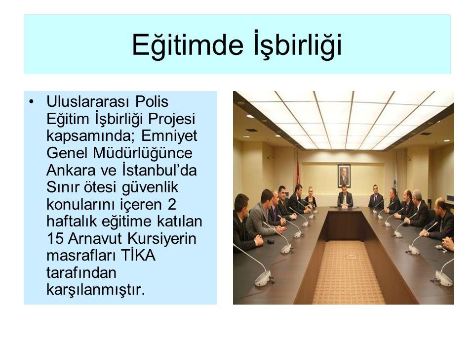 Eğitimde İşbirliği Uluslararası Polis Eğitim İşbirliği Projesi kapsamında; Emniyet Genel Müdürlüğünce Ankara ve İstanbul'da Sınır ötesi güvenlik konul