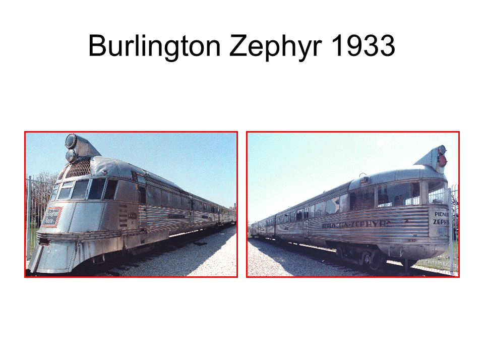 Burlington Zephyr 1933