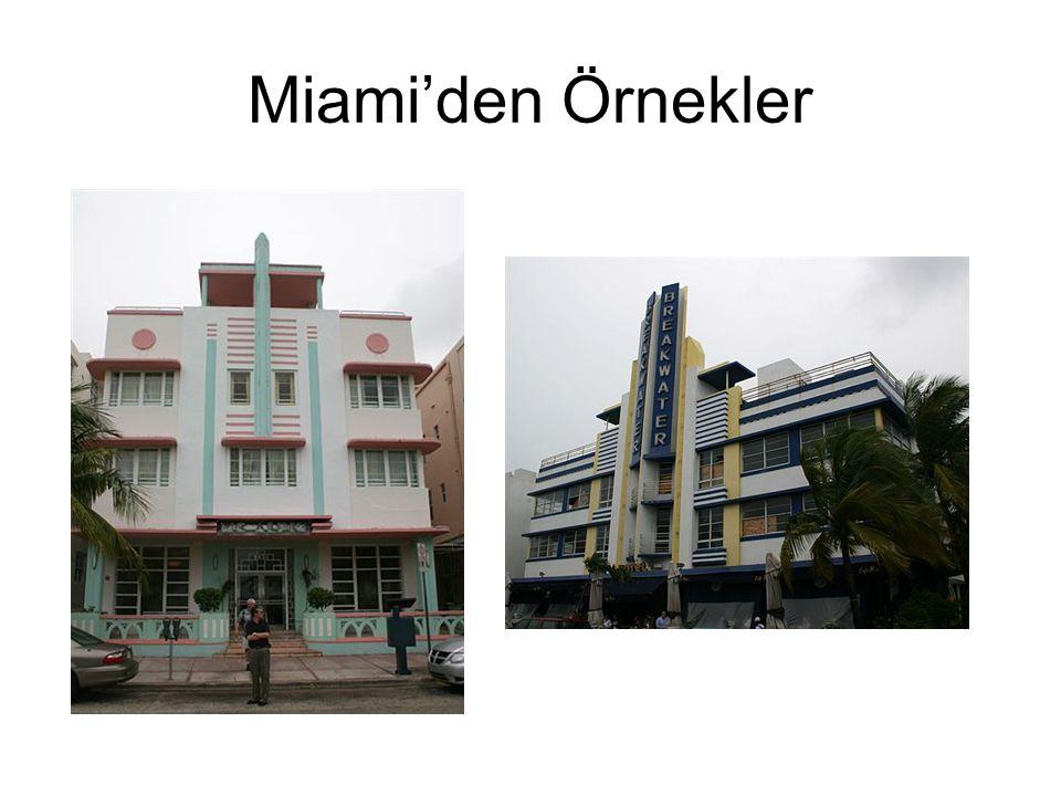 Miami'den Örnekler