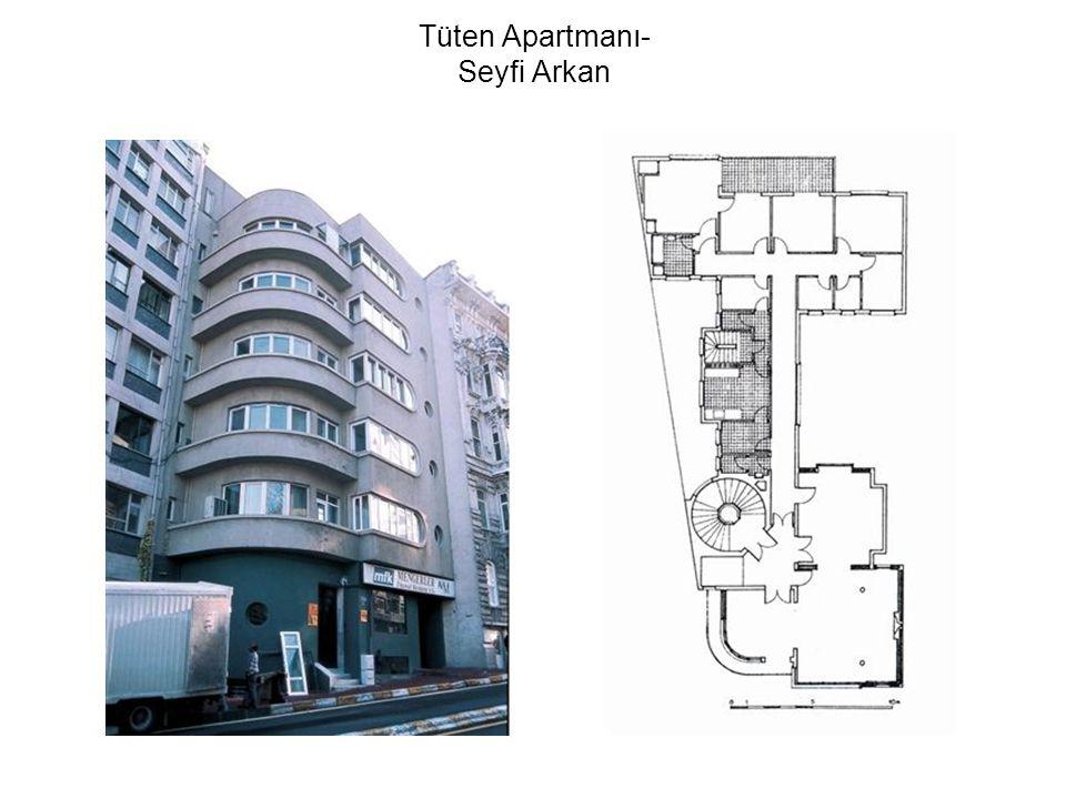 Tüten Apartmanı- Seyfi Arkan