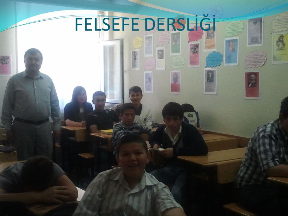 FELSEFE DERSLİĞİ