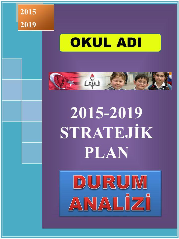 2015-2019 STRATEJİK PLAN ÇUBUK - 2015 2015-2019 STRATEJİK PLAN ÇUBUK - 2015 2015 2019 OKUL ADI