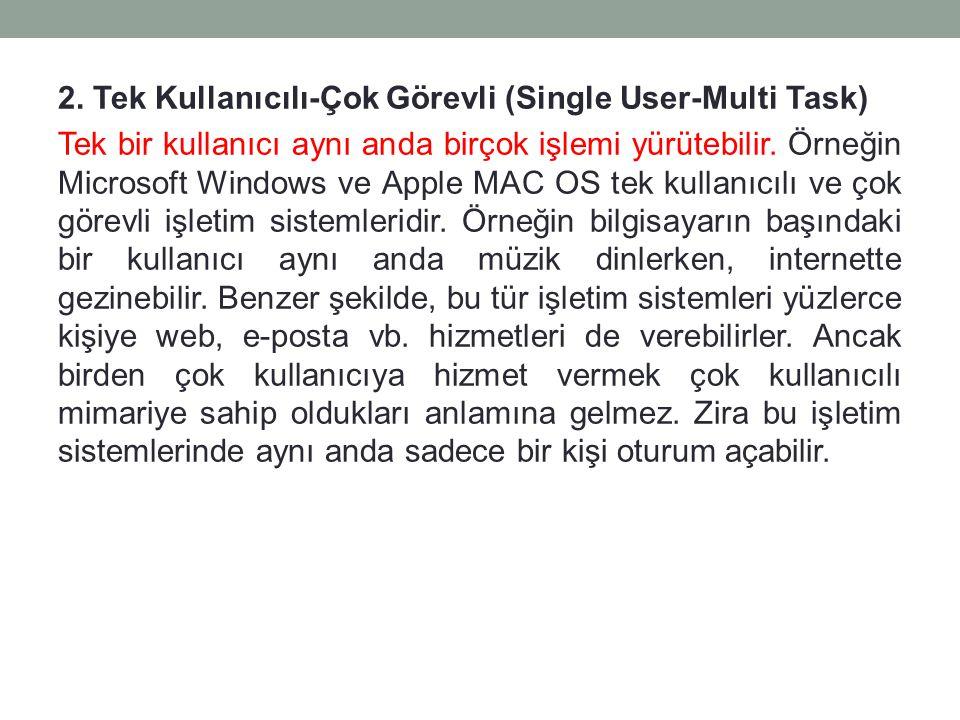Örneğin KDE kullanan UBUNTU