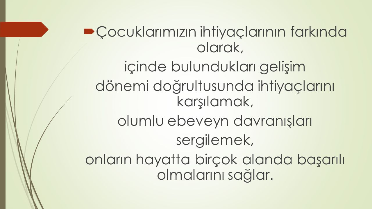 SINAV ÖNCESİNDE ANNE-BABALAR NE YAPMALI.
