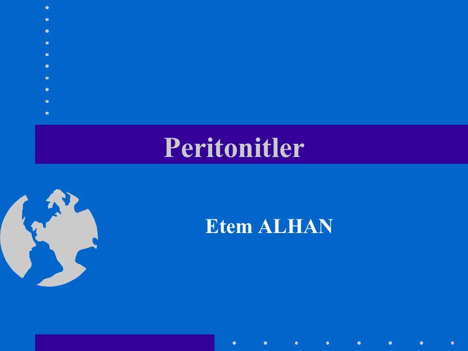Peritonitler Etem ALHAN
