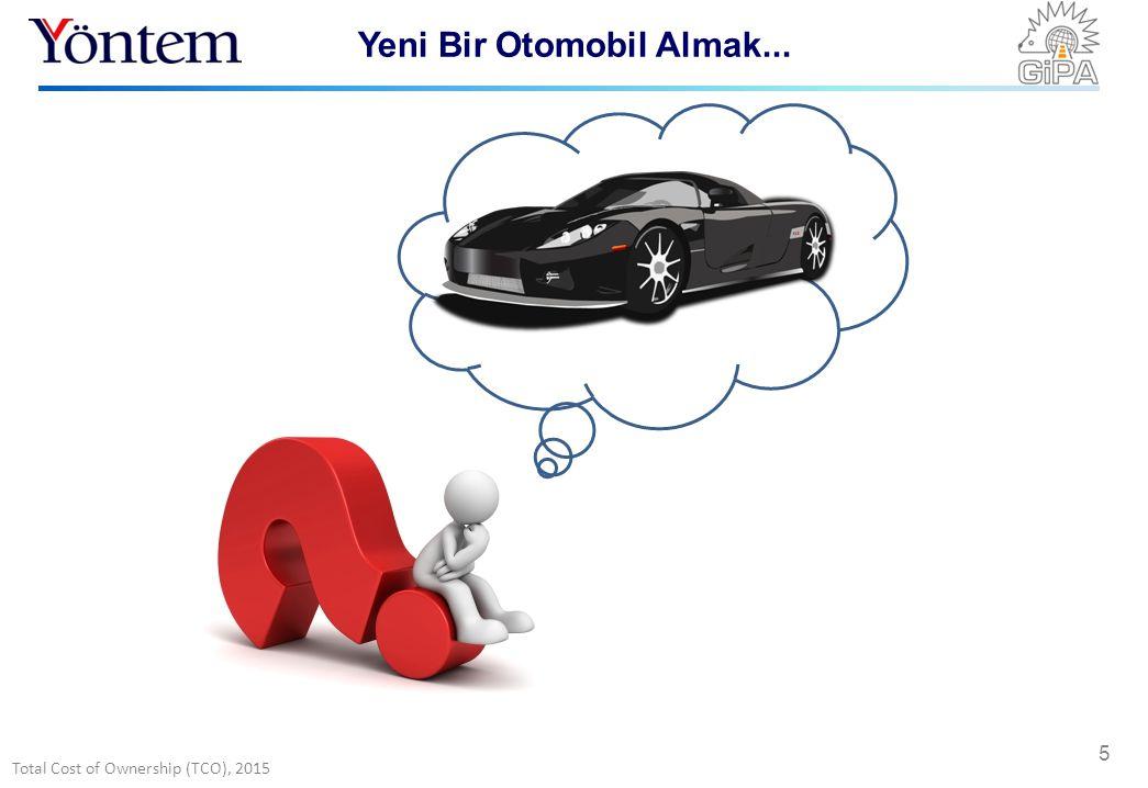 Total Cost of Ownership (TCO), 2015 5 Yeni Bir Otomobil Almak...