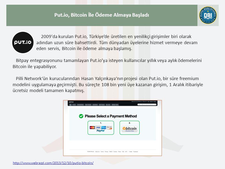 2009′da kurulan Put.io, Türkiye'de üretilen en yenilikçi girişimler biri olarak adından uzun süre bahsettirdi. Tüm dünyadan üyelerine hizmet vermeye d