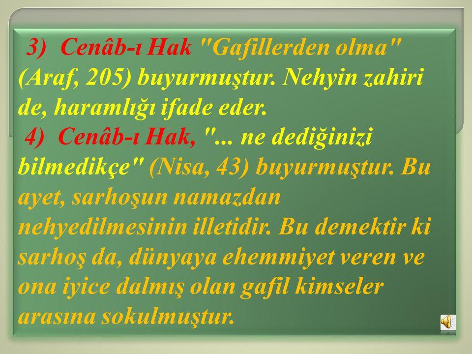 3) Cenâb-ı Hak