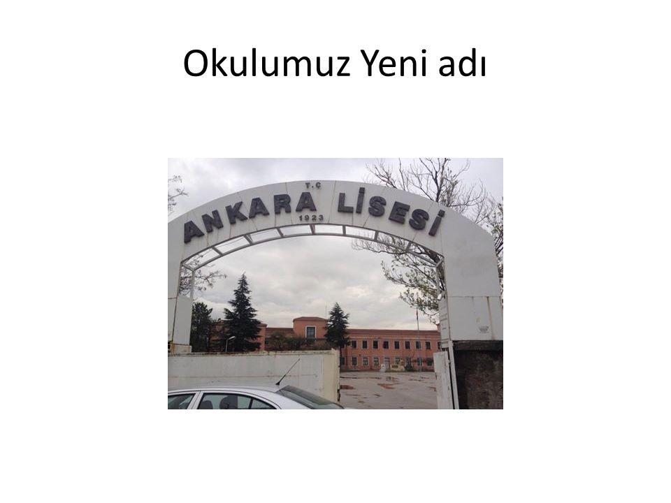 Okulumuz Yeni adı