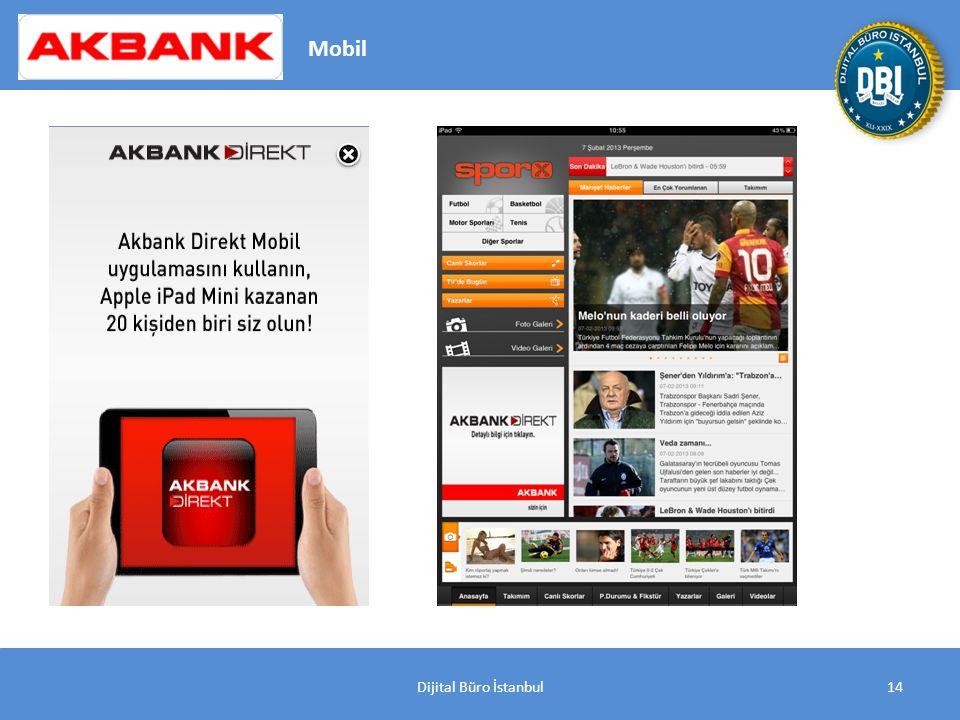 Dijital Büro İstanbul14 Mobil