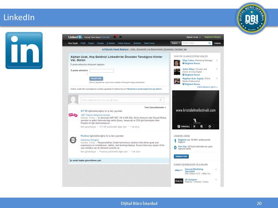 Dijital Büro İstanbul20 LinkedIn