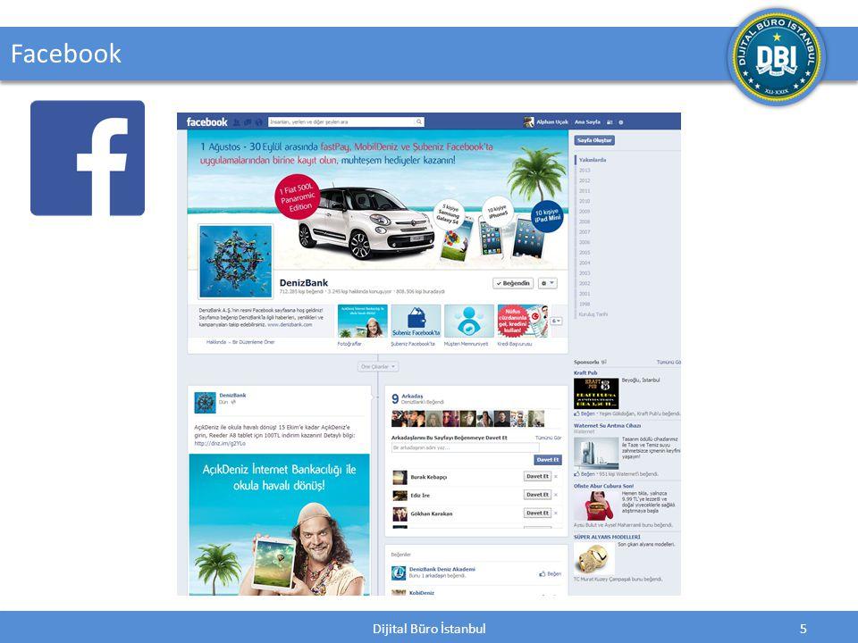 Dijital Büro İstanbul6 Facebook Facebook, insanların arkadaşlarıyla ve diğer kullanıcılarla iletişim kurmasını ve bilgi, fotoğraf, video vb.