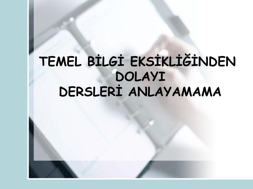 YANLIŞ ÇALIŞMA ALIŞKANLIKLARINA KISACA BİR BAKALIM !!!...
