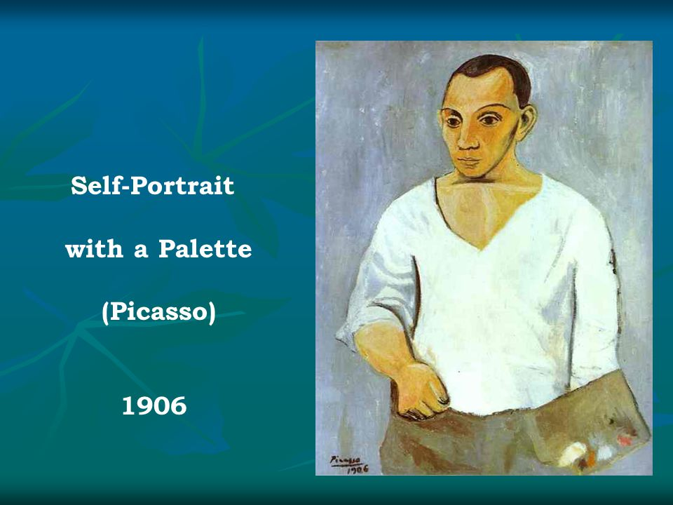 Self-Portrait with a Palette (Picasso) 1906