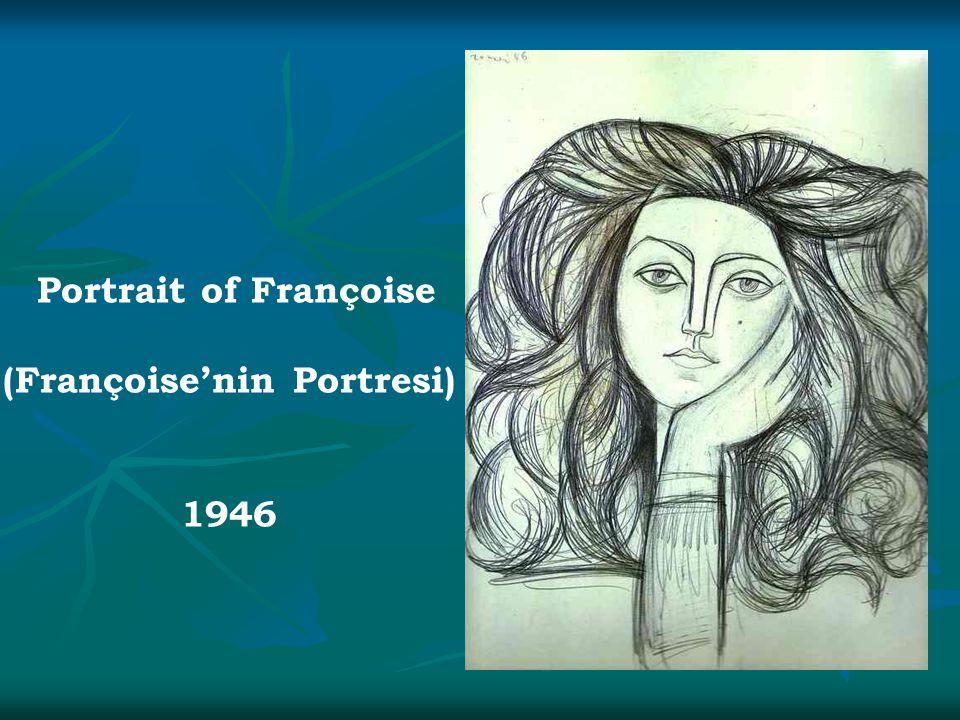 Portrait of Françoise (Françoise'nin Portresi) 1946