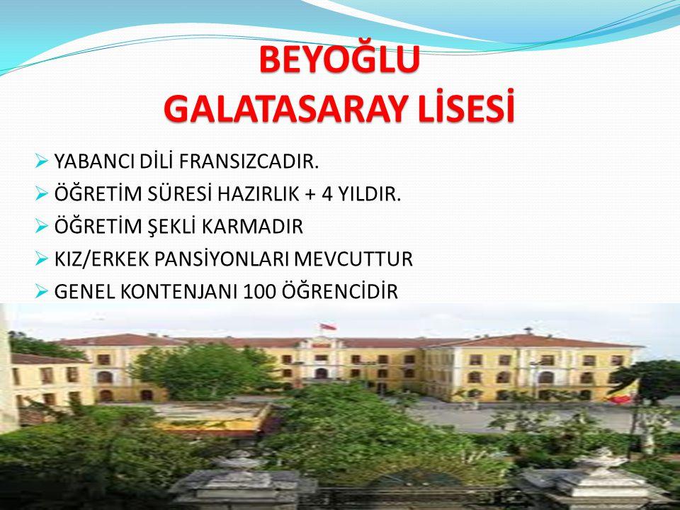 NEDEN ANADOLU LİSELERİ .