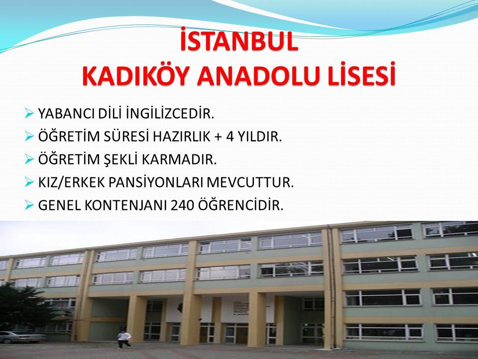 FATİH CAĞALOĞLU ANADOLU LİSESİ  YABANCI DİLİ ALMANCADIR.