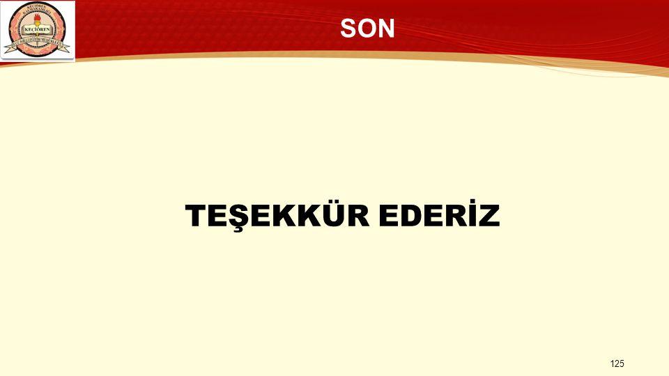 TEŞEKKÜR EDERİZ SON 125