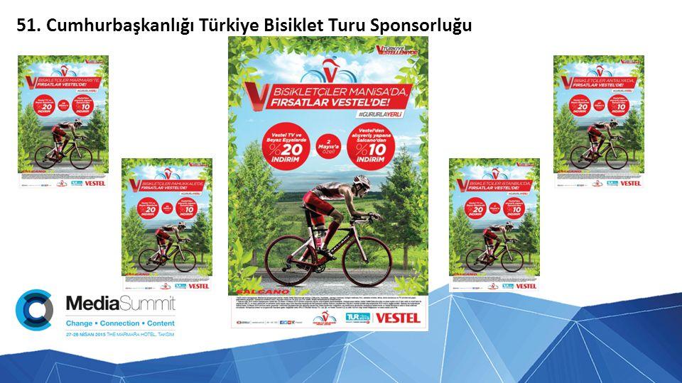 51. Cumhurbaşkanlığı Türkiye Bisiklet Turu Sponsorluğu