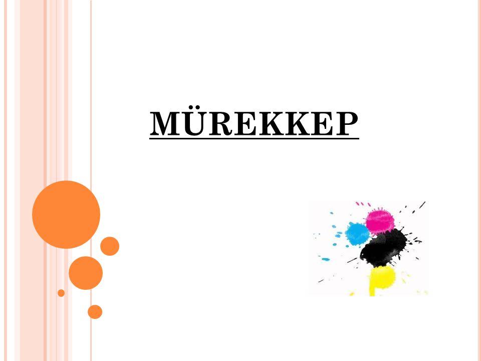 Mürekkep çeşitli renklendirici ya da boyalar kullanılarak üretilmiş akışkan bir maddedir.