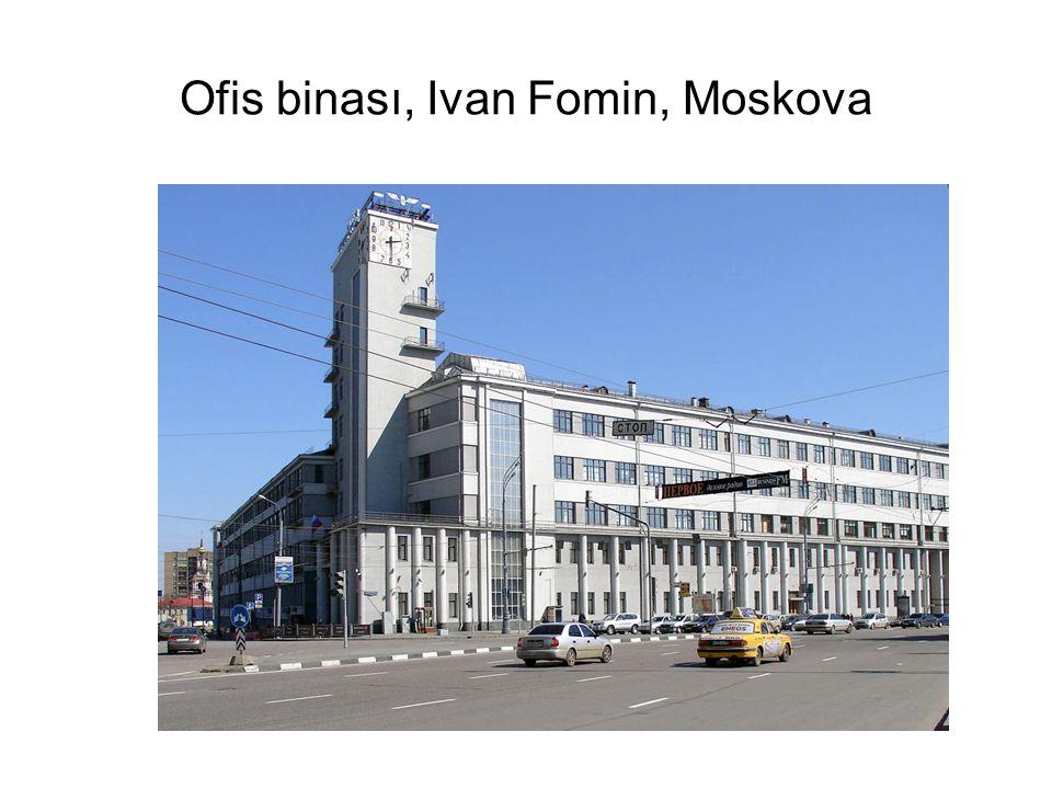 Ofis binası, Ivan Fomin, Moskova