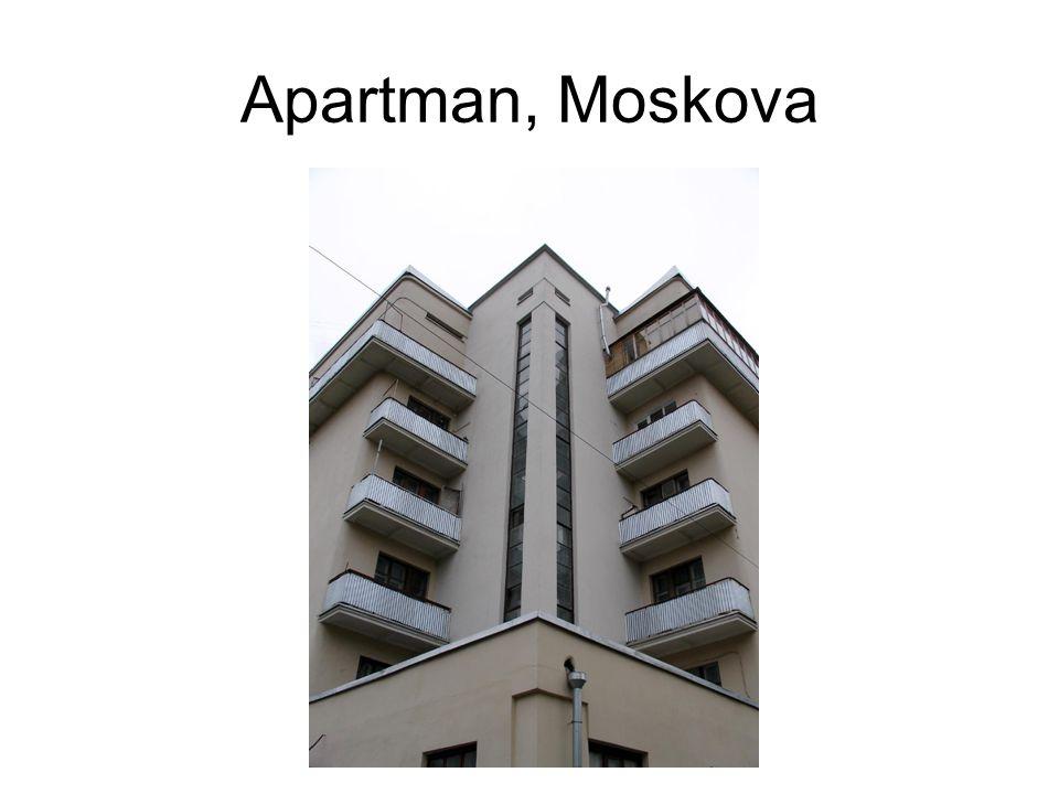 Apartman, Moskova