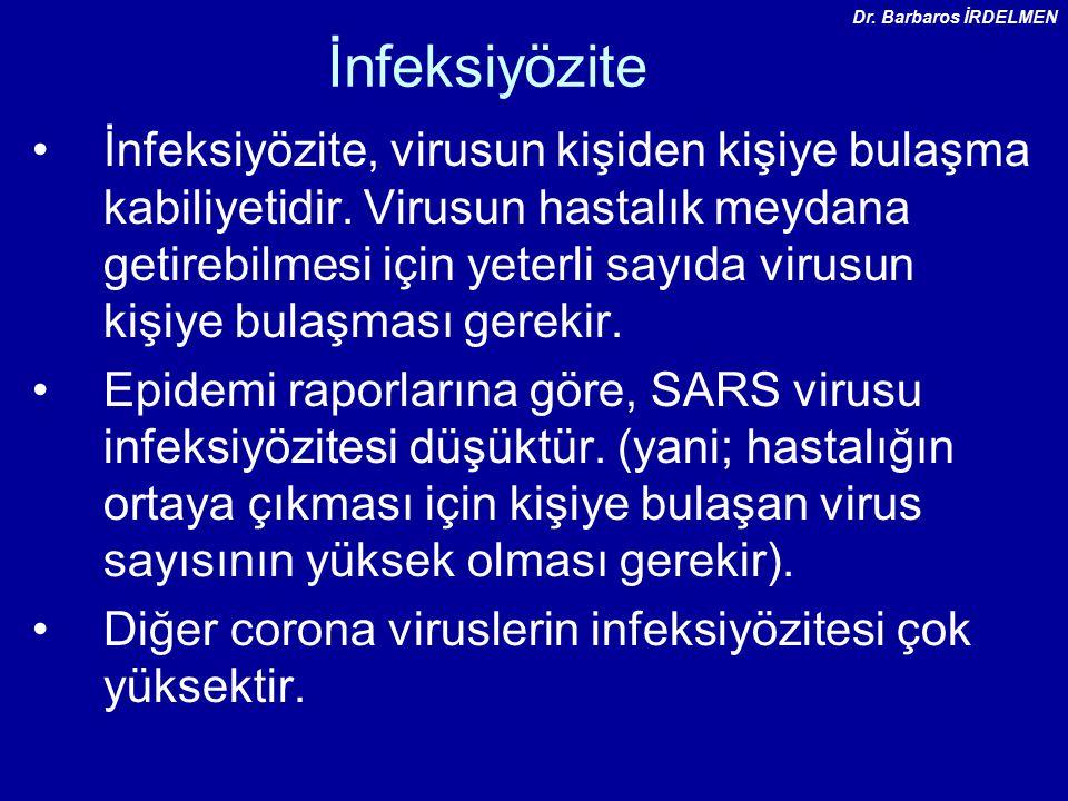 İnfeksiyözite İnfeksiyözite, virusun kişiden kişiye bulaşma kabiliyetidir.