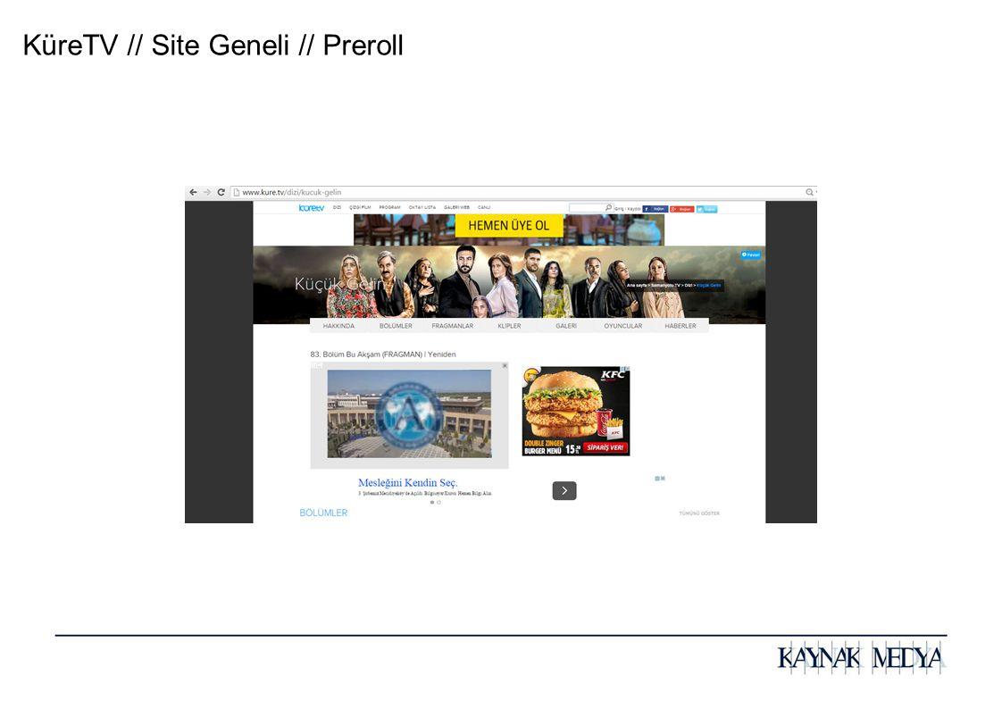 KüreTV // Site Geneli // Preroll