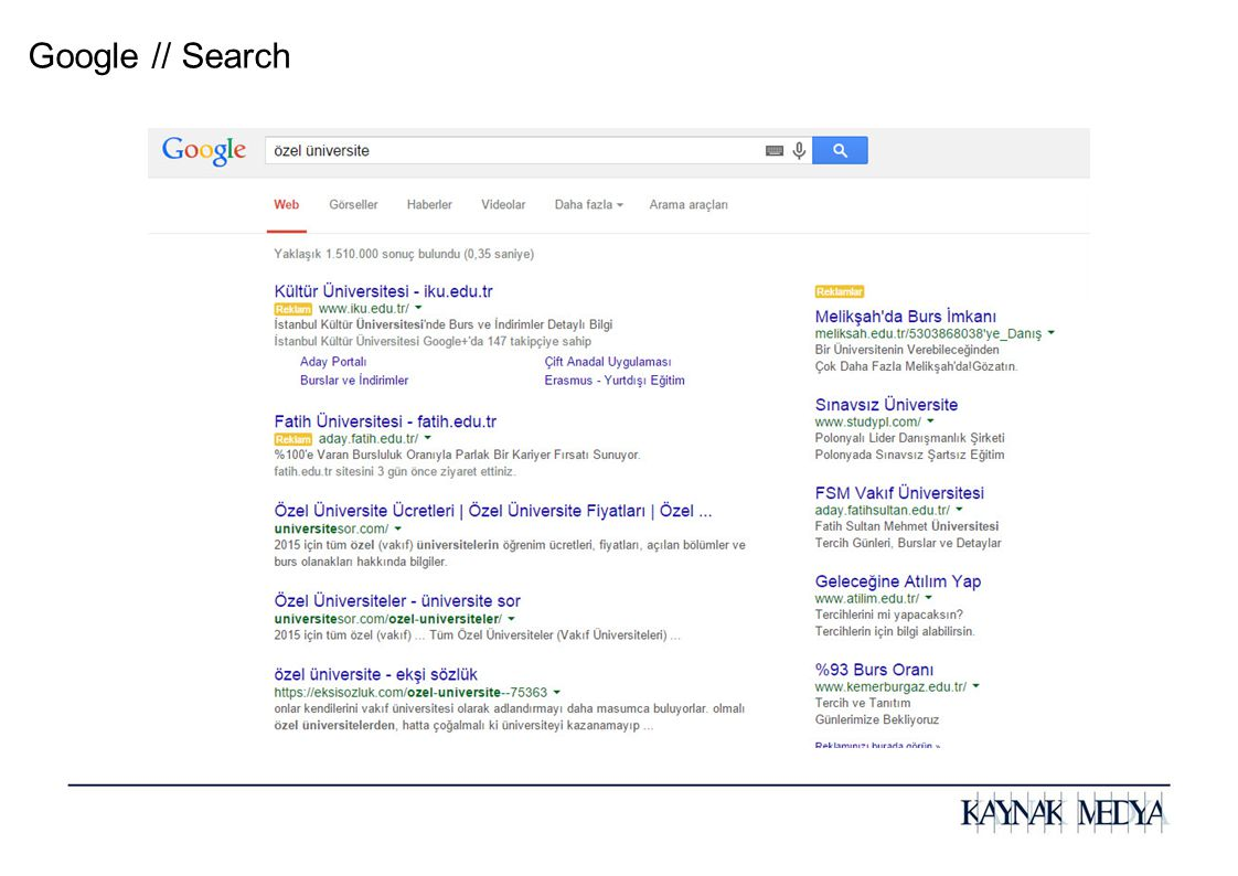 Google // Search