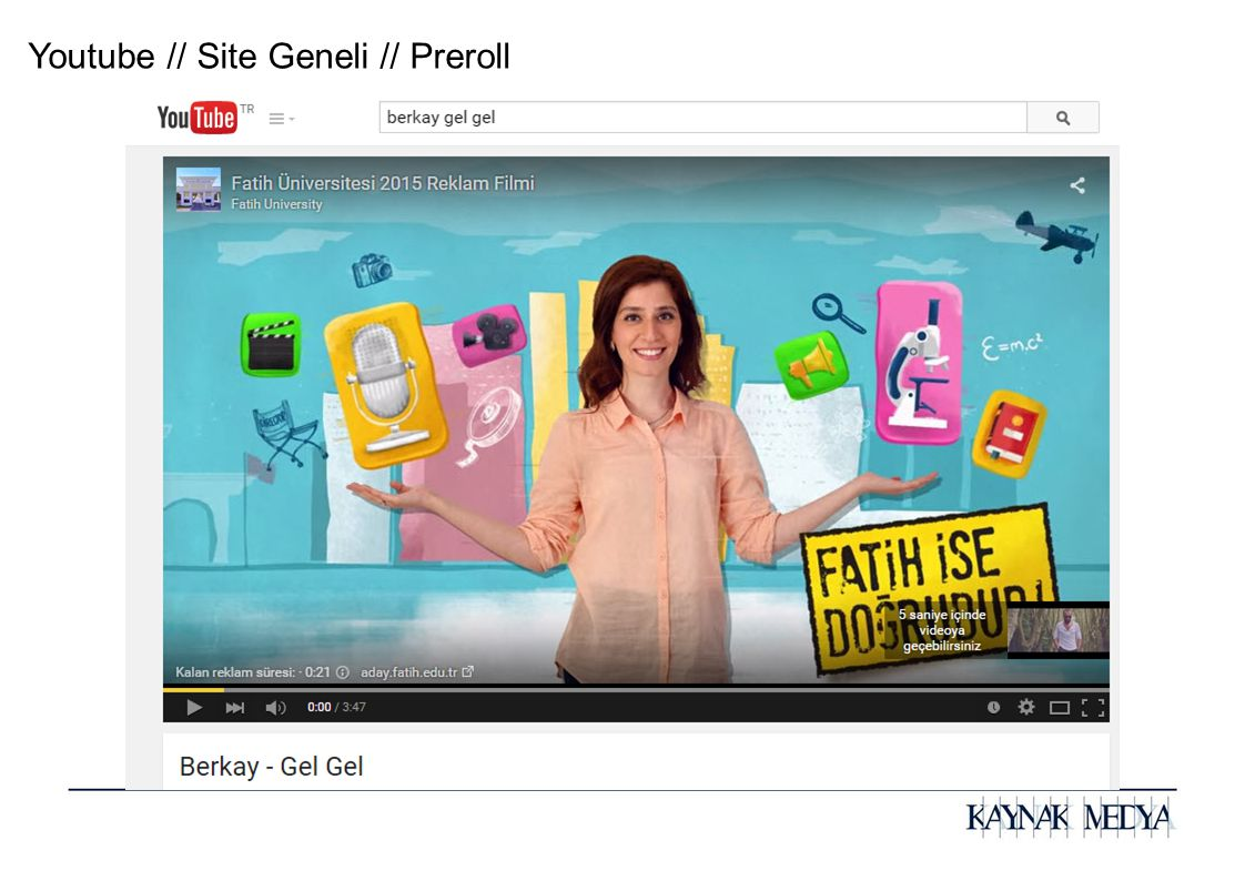 Youtube // Site Geneli // Preroll