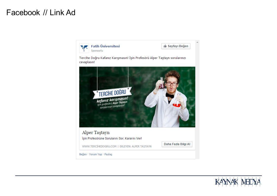 Facebook // Link Ad