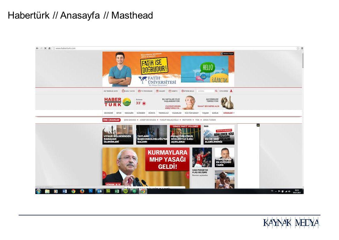 Habertürk // Anasayfa // Masthead