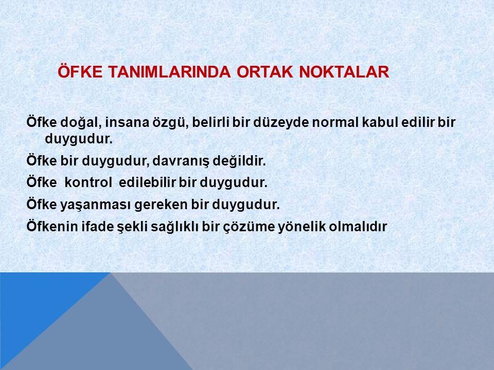 ÇOCUKLAR VE ERGENLER ÖFKELERIİNİ NASIL İFADE EDERLER.